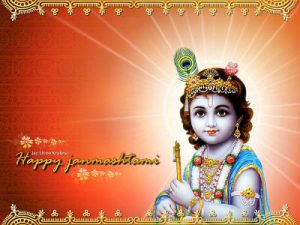 Happy Janmashtami baby Krishna Makhanchor Krishna baby Images Wallpapers Download free